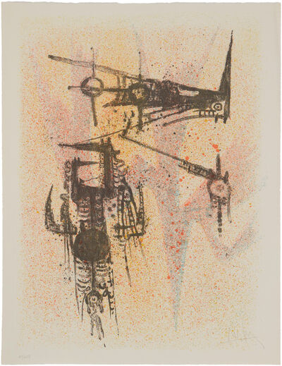"Wifredo Lam, 'Untitled (from the ""Flight"" portfolio) 1967', 1971"