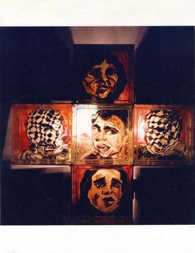 Isack Kousnsky, 'Political Confusion (Cross #4)', 1991