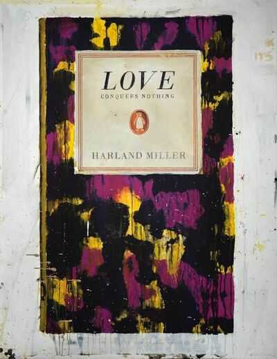 Harland Miller, 'Love Conquers Nothing', 2011