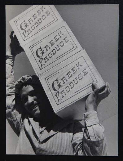 Alfred Eisenstaedt, 'Corinthian packer.', 1934