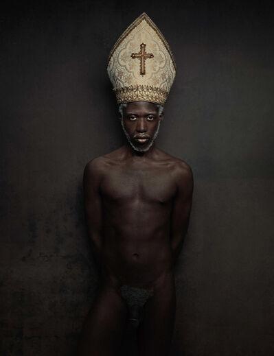 Marc Lagrange, 'Black Pope', 2010