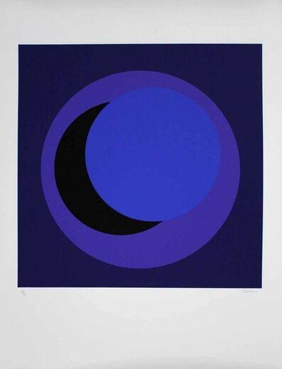 """Geneviève Claisse, '""""Cercle bleu foncé""""', 2015"""