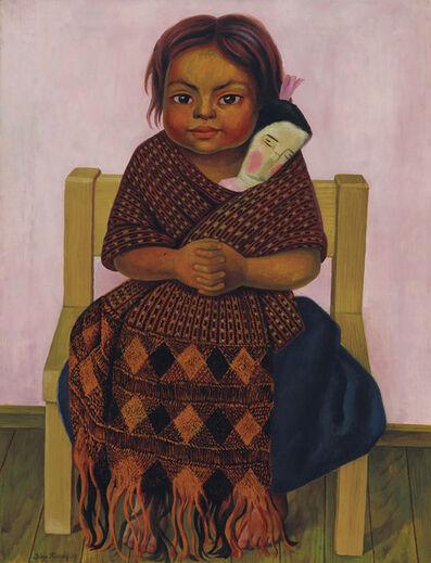 Diego Rivera, 'Niña con muñeca de trapo', 1939