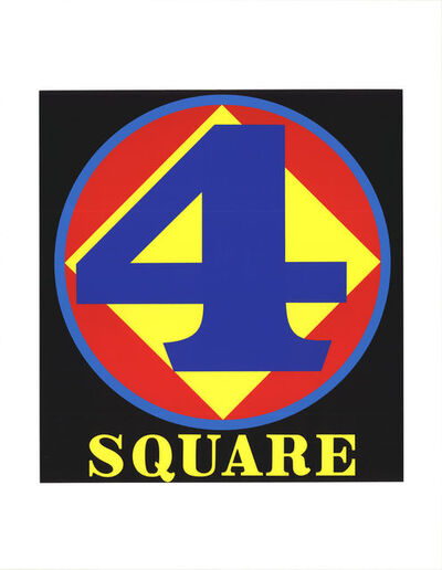 Robert Indiana, 'Polygon: Square (Four)', 1997