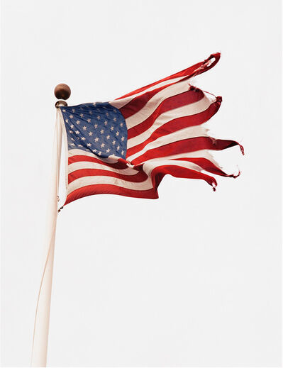 Michael Dweck, 'Flag at Snug Harbor, Montauk', 2002