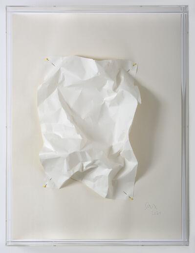 Ursula Sax, 'Papiergebirge (Papierrelief | paper relief)', 2021