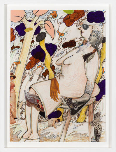 Gladys Nilsson, 'Seated', 2015