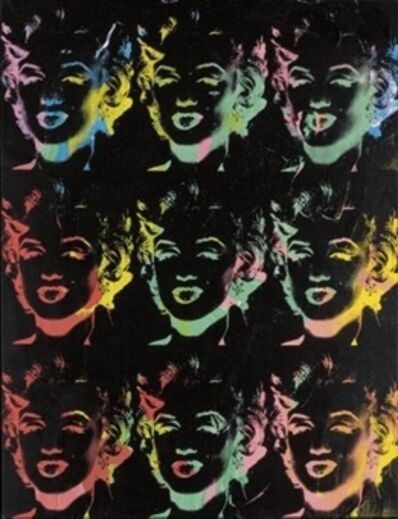 Andy Warhol, 'Nine Multicolored Marilyns ', 1979-1986