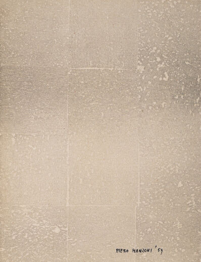 Piero Manzoni, 'Untitled', 1959