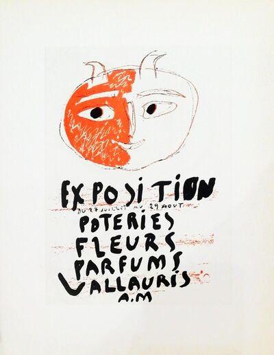 Pablo Picasso, 'Exposition Poteries Fleurs', 1959