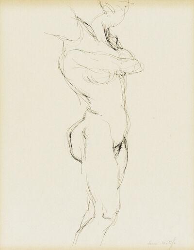 Henri Matisse, ' Etude de Nu', ca. 1900