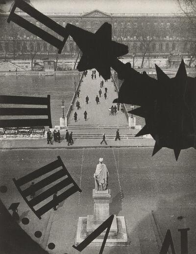 André Kertész, 'Pont des Arts', 1929