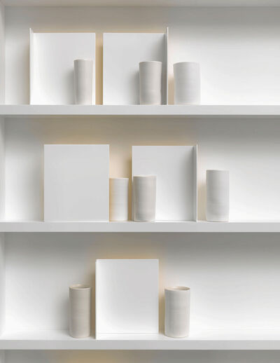 Edmund De Waal, 'the poems of our climate (Detail)', 2018