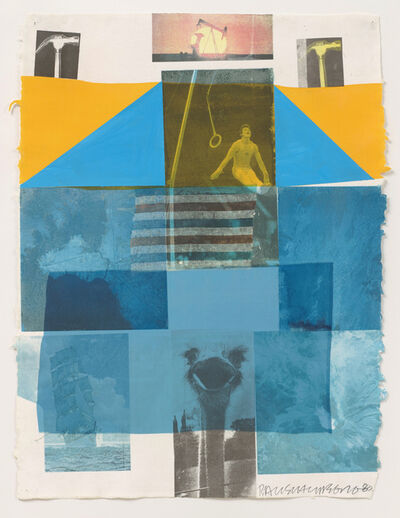 Robert Rauschenberg, 'Flue', 1980