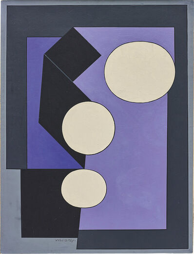 Victor Vasarely, 'Lille-A', 1950