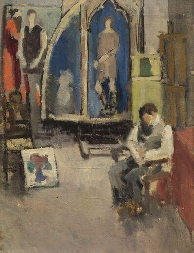 Guglielmo Janni, 'L'atelier del pittore'