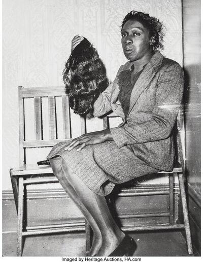 Weegee, 'Transvestite Robber', 1945