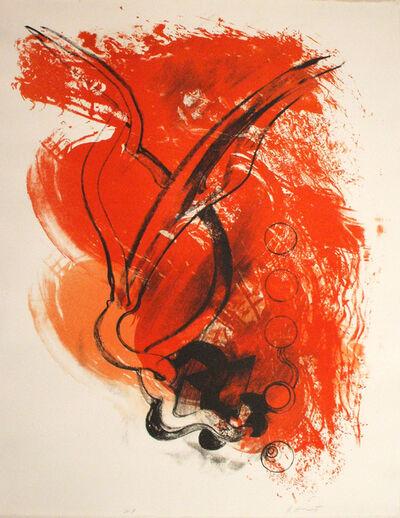 Richard Hunt, 'Untitled - Orange and Red', 2011