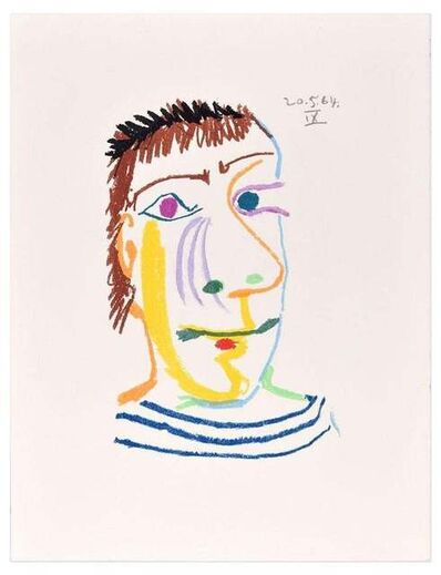 Pablo Picasso, 'Le Goût du Bonheur - 20.5.64 IX - After P. Picasso', 1998