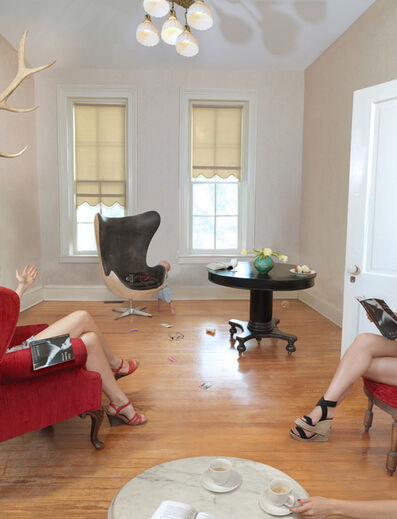 Julie Blackmon, 'Book Club', 2012