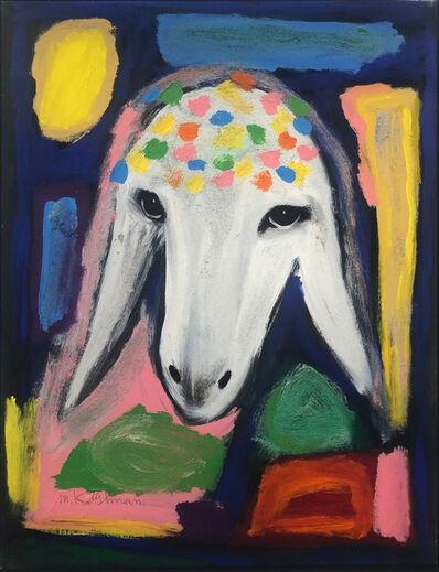 Menashe Kadishman, 'Cubism Sheep', ca. 1990