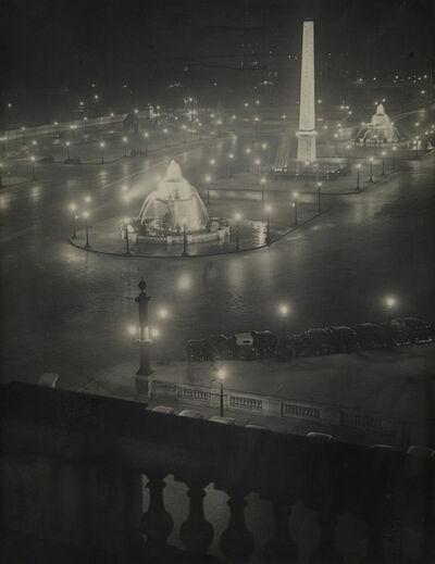 Brassaï, 'Place de la Concorde.', circa 1950