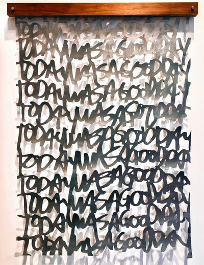 """Christopher West, '""""Untiled"""" (Today Was A Good Day)', 2019"""
