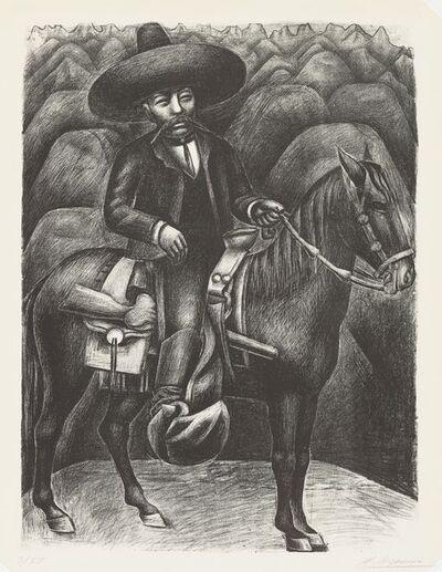 David Alfaro Siqueiros, 'Zapata', 1931