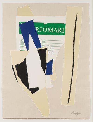 Robert Motherwell, 'America - La France Variations IX', 1984