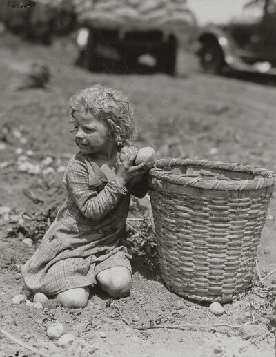 Lewis Wickes Hine, 'Child Picking Long Island Potatoes', ca. 1912