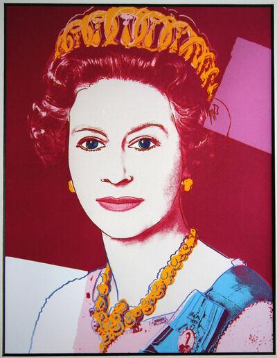 Andy Warhol, 'Queen Elizabeth (from Art Basel)', 1987