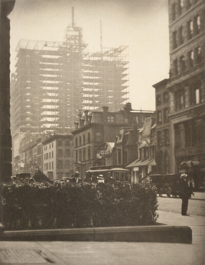 Alfred Stieglitz, 'Old and New New York', 1910