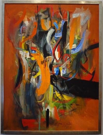 Byron Browne, 'Fiesta II', 1958