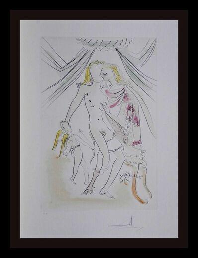 Salvador Dalí, ' Hommage a Albrecht Durer Venus Mars Cupidon', 1971