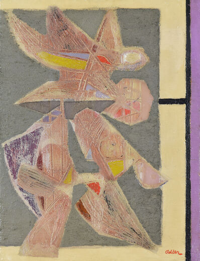 Jankel Adler, 'Birds', Circa 1940
