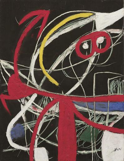 Joan Miró, 'Femme, oiseaux', 1976