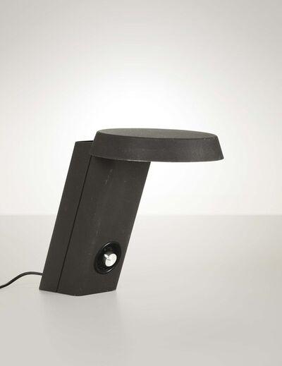 Gino Sarfatti, 'A 607 table lamp in craquelè lacquered aluminum', 1971