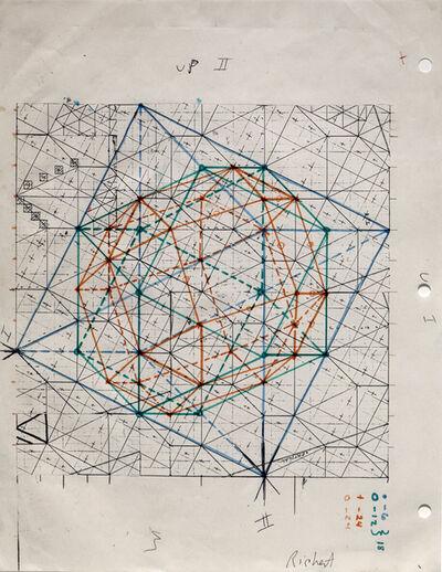Clark Richert, 'Zono-hedral Lattice', 1973
