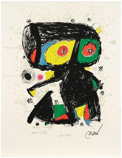 Joan Miró, '15 ans Poligrafa', 1980