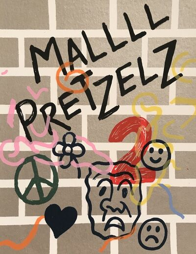 Adam Palmer, 'Mallll Pretzelz 2', 2019