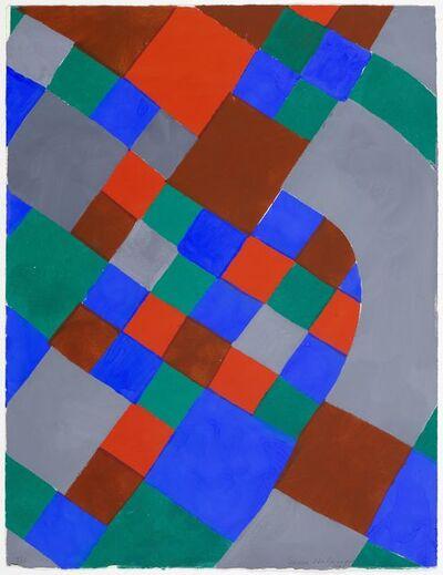 Sonia Delaunay, 'Poésie de mots', 1961