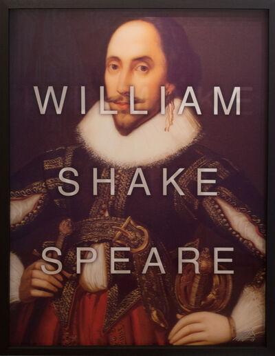 Massimo Agostinelli, 'William Shakespeare / I'll Make a Wise Phrase', 2015