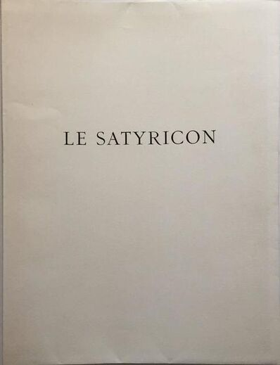 André Derain, 'Erotic Etching from Le Satyricon', 20th Century