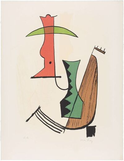 Man Ray, '[ABSTRACT FIGURE]'