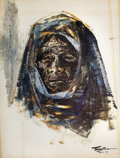 Romeo Tabuena, 'Blue Woman', 1956