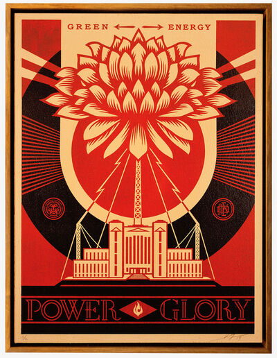 Shepard Fairey, 'Green Power', 2014