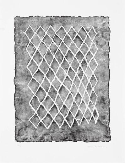 Mona Hatoum, 'Untitled (fence, black) II', 2018