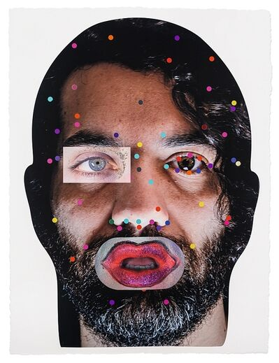 Tony Oursler, 'Recognition (image 7-1.6)', 2020