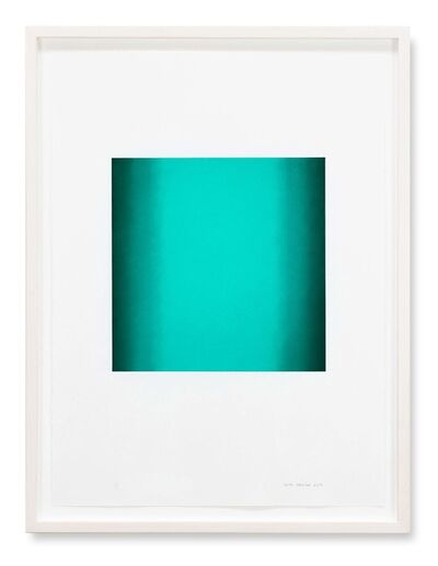 Ruth Pastine, 'Square, Green Light Series ', 2018