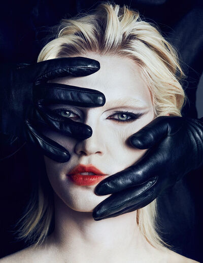 Txema Yeste, 'Aline and Gloves', 2013